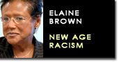 Elaine brown new racism