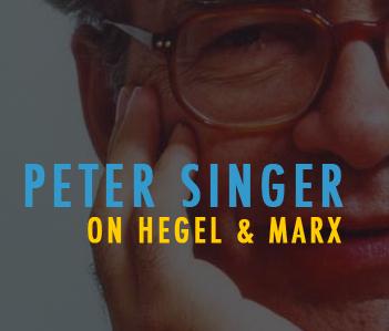 Singer on hegel