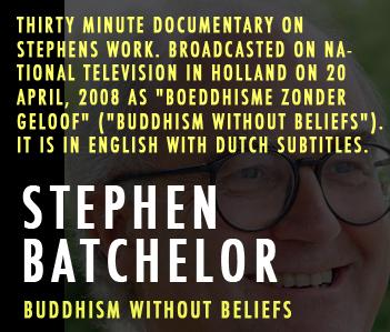 Stephen batchelor