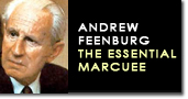 Andrew feenburg marcuse